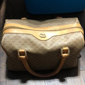 Gucci purse and cosmetic case GUC VINTAGE YKK